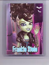 Mattel Genuine Monster High Goth Doll Ghouls Rule Frankie Stein Trading Card