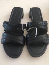 COACH Dark Blue Navy Sandal SHOES SZ 7 B NEW