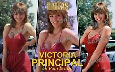 Victoria Principal Fan Made Poster print 11 X 17 DALLAS TV SERIES Pam Ewing