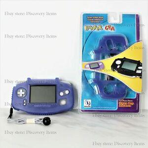 Interact VintagNintendo Tough Rubber Bumper Shell case Game Boy Advance GBA Blue