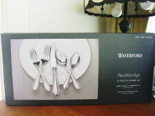 Waterford Stainless NORTHBRIDGE 45 Pc Flatware Set Serv / 8 + 5 Serv Pcs -  NEW!