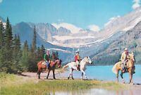 Vintage Postcard - Glacier National Park - Great Northern Railway - 1950's