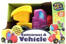 Unimax Construct a Vehicle Fun to Learn Mechanic Playset Toddler Baby Toy 12m+