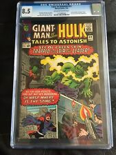 TALES TO ASTONISH #69 CGC VF+ 8.5; OW-W; Kirby cover/art!