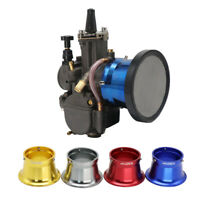 50mm Carburetor Air Filter Horn Cup With Net Funnel Velocity Stacks For Carb