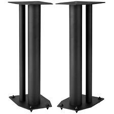 "Dayton Audio SSMB24 24"" Speaker Stand Pair Square Steel Base"