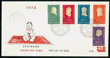 MayfairStamps Suriname 1970 5 Beethoven Stamps Music First Day Cover WWH34763