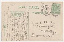 Miss Edwards, Pen Waungoch, Pontlottyn, Glamorgan 1907 Postcard, B332