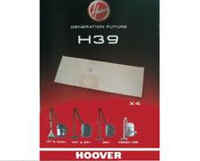 LOT DE 5 SACS ASPIRATEUR HOOVER generation future H39