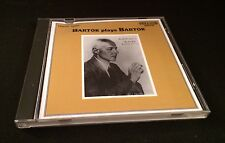 Very Rare Vintage CD: Bartok Plays Bartok 1988 Price-Less Historic Series