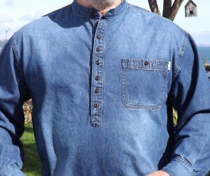 Kaboo..Quality simply never an issue Grandad Shirt Button Through Classic