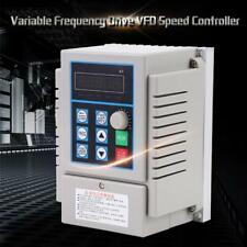 AC220V Variable Frequency Drive VFD Speed Controller for Single-phase 450W Motor