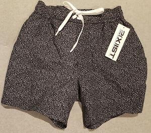 2(x)ist Mens Hampton Micro Leopard Print Swimming Shorts Swim Trunks Small
