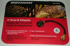 BBQ BARBECUE REPLACEMENT 4' GAS HOSE ADAPTER CONVERTER 1LB DISPOSABLE -  20LB