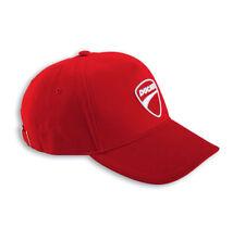 DUCATI entreprise Capuchon casquette bonnet Basecap Rouge NEUF