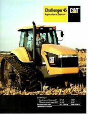 Caterpillar CAT Challenger 45 Agricultural Tractor Brochure  1994 9944E