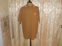 "NEW Pacific Blue Chestnut Brown ""Chicago"" Polo Shirt Mens XL NWT Closet323***"