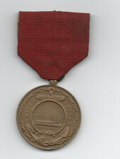 Old United State Navy Medal showing the Ship Constitution