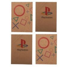 SONY PLAYSTATION PS BUTTON LOGO 4 PACK PAPER NOTEBOOK NOTEPAD POCKET JOURNAL