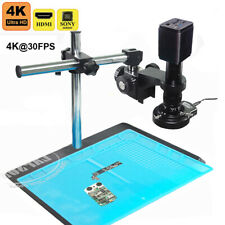 4k 8mp 30fps Hdmi Usb Wifi Industry Microscope Camera Set Stand Lens Sony Imx334