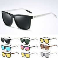 2019 New Polarized Sunglasses Fashion Retro Driving Mirrored Eyewear Shades