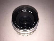 Carl Zeiss Jena Biotar 2/58 Red T Lens w/ Exakta Mount - 58mm f:2 Vintage