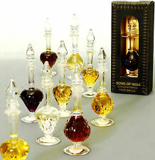 Song of India Natural Fragrant Oil in Fancy Glass Bottle - FREE SHIPPING