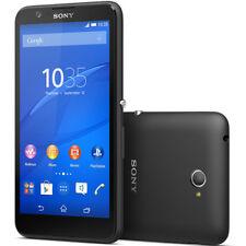 """New SONY XPERIA E4 E2105 5"""" 8GB BLACK Sim free smartphone"""