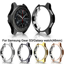 For Samsung Gear S3 Frontier Galaxy Watch Case Bumper Cover TPU Protective 46mm