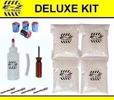 E-Z Tire Balance Beads Deluxe Kit 4x4 oz(16 total)Applicator/Filtered Cores/Caps