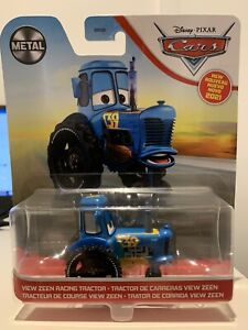 Disney Pixar Cars - View Zeen Racing Tractor No: 39 Official Diecast