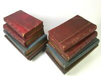 Vintage Pair of Decorative Wall Hanging Dummy Book Good++ Condition!