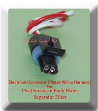 Electrical Connector of Fuel/Water Separator Filter FS1022 For Oval Sensor