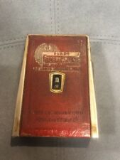 """CALENDAR COIN BANK first federal SavingsVINTAGE USA 5"""" ZELL PRODUCTS CALEMETER"""