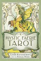 Mystic Faerie Tarot Deck by Linda Ravenscroft, Barbara Moore Cards Book 9780