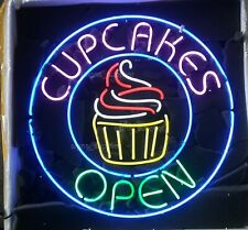 "New Cupcakes Open Shop Pub Bar Neon Light Sign 24""x24"""