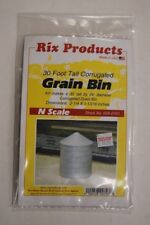 N Scale Rix Products kit 628-0703 * 30 Foot Tall Corrugated Grain Bin * NIB