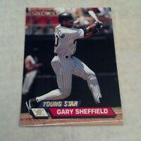 "GARY SHEFFIELD 1993 TOYS""R""US TOPPS STADIUM CLUB CARD # 64 A1870"