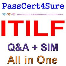 ITIL Foundation ITILF Exam Q&A PDF+SIM
