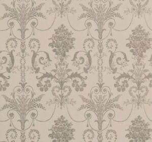 Laura Ashley Wallpaper Josette Truffle X 4 Rolls Same Batch No