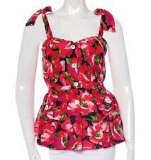 DOLCE & GABBANA Floral Print Bustier Top.  Size IT 38 / US XS, 0 $2750