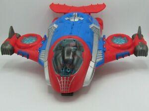 Playskool Heroes Marvel Spider Man Plane Jet Quarters Toy Hasbro
