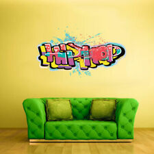 Full Color Wall Decal Sticker Kids Graffiti Words Quote Sign Hip Hop (Col701)