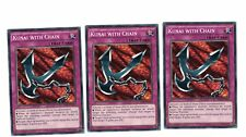 3x Kunai with Chain BP03-EN210, Common, Mint, Englisch, 1st, Playset