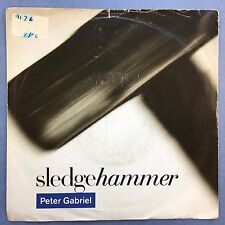 PETER GABRIEL - Sledgehammer / NE BREAK This rythme - VIRGIN PGS-1 EX