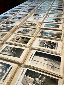 VINTAGE PHOTOS LOT of 100 Random B&W and Sepia Snapshots Old Photos