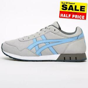 Asics Curreo Women's Casual Retro Running Shoes Fitness Workout Trainers Grey