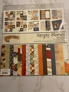 Simple Stories, Hello Fall, New Scrapbooking Collection Kit