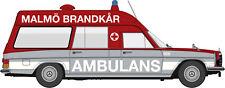 "MB/8 Ktw "" Ambulans Malmö 906 "" Starmada, H0 Car Model 1:87, Brekina 13815"