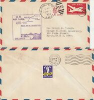 US 1953 AM 88 FIRST FLIGHT FLOWN AIR MAIL COVER COLUMBUS TO YOUNGSTOWN